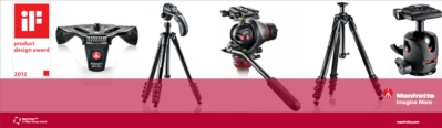 Manfrotto: a Top Player at the IF Design Award