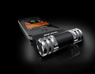 TASCAM Announces iM2 Stereo Microphone for iPad / iPhone / iPod Touch