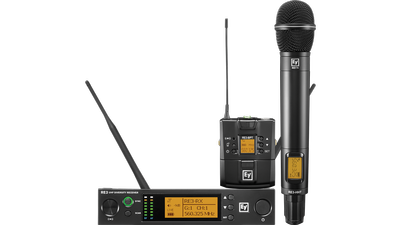 ROCK-SOLID RF: Electro-Voice introduces the new RE3 UHF wireless microphone product family