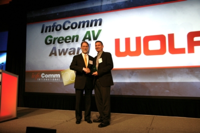 WolfVision Wins InfoComm Green AV Award for 2011