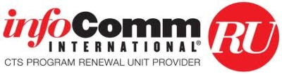 Kramer Electronics Partners with InfoComm to Teach CTS and CTS-D Prep. Will take these Classes
