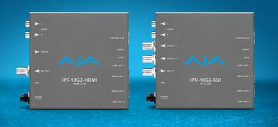 AJA Upgrades IP Mini-Converter Receivers with New UltraHD & Reference Input Support