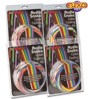 Audio Snake Color Coding Kit