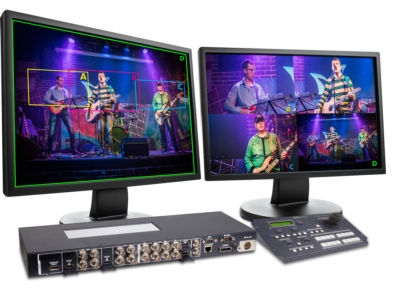 Turn your 4K camera into 4 HD cameras for a Live Production Application