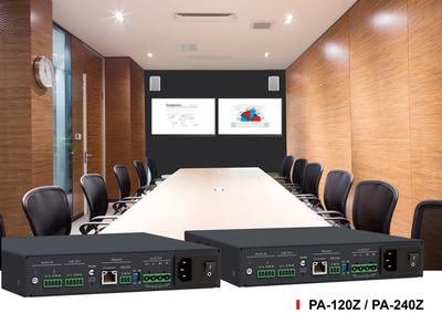 Size Doesn't Matter! Hi-Z/Lo-Z Power Amplifiers for Any-Size Meeting Space
