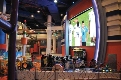 Christie Projects For Electrosonic at Kuwait 360 Mall Family Entertainment Center