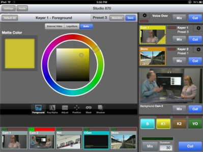 Ensemble Designs Features New Layering Engine with iPad Control at IBC
