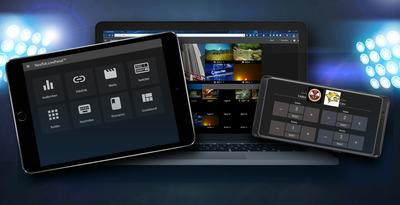 NewTek LivePanel™ Advances IP Workflows with Browser-Based Remote User Interfaces
