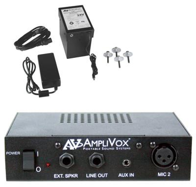 AmpliVox Introduces Rechargeable Battery for Lecterns with Built-in PA Systems