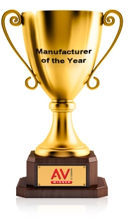 Kramer Wins Manufacturer of the Year Award at AV Awards 2013, together with Systems Product of the Year Award for the VP-771
