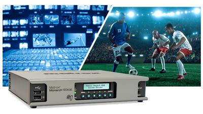 Matrox Monarch EDGE S1: The All-in-One Encoder and Decoder for Remote Productions