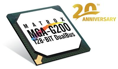 Matrox G200: Celebrating 20 Years of Graphics Excellence