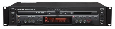 TASCAM UPGRADES MINIDISC COMBO TO MD-CD1MKIII