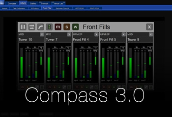 New Meyer Sound Compass 3.0 Unifies System Control and Monitoring