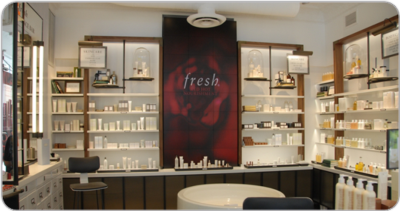 Fresh® launches new NYC store with brilliant Christie MicroTiles