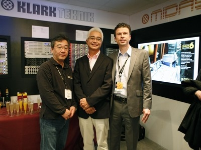 Midas and Klark Teknik announces launch of Midas Consoles Japan and Italy