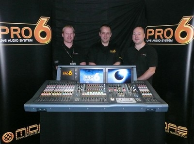 Midas PRO6 moves into corporate events with first UK sale