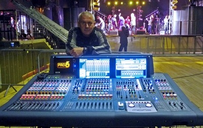 Dual Midas PRO6 system fulfills size constraints for Paolo Nutini promotional tour