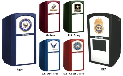 AmpliVox Introduces Customized Military Multimedia Lecterns