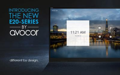 "Avocor launched its ""E series"": combining exceptional touch features in an affordable, flexible and agnostic collaboration display"