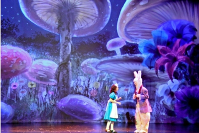 California's ESCAPE Youth Theater Uses TITAN Imagery to Kick Off 10th Season with Alice in Wonderland