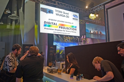LDI 2012 attendees experience 16,000 lumens of dazzling imagery