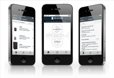 One Systems Introduces Mobile Phone App