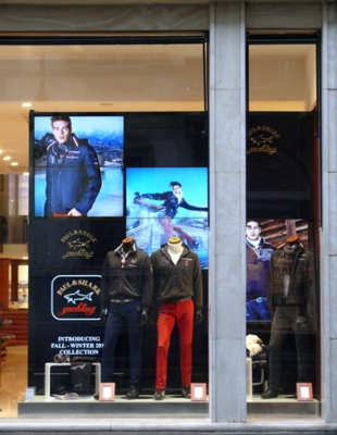 Paul & Shark Storefront Displays New Collections with Innovative Digital Signage Powered by Magenta Research