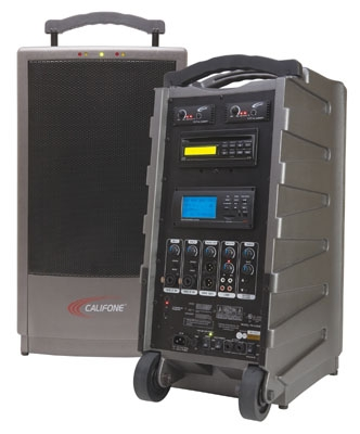 Califone® 900MHz, Interchangeable, Wireless,  Portable PA Systems Featured at 2011 InfoComm