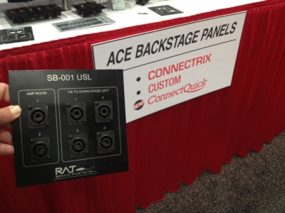 ACE Backstage Brings Custom AV Panels and LEED Points to AVX