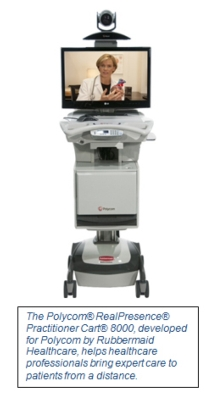 Polycom Helps Take Expert Healthcare Straight to Patients with New Polycom® RealPresence® Practitioner Cart® 8000