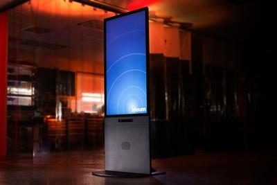Portrait Touch and Motion Kiosk Redesigned