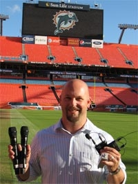 Shure Axient Wireless Tackles Referee Microphones at Sun Life Stadium
