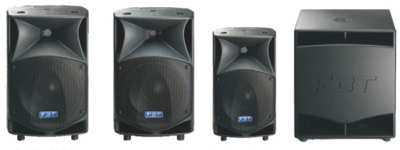 FBT Introduces ProMaxx Series Powered and Passive Speakers