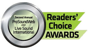 Five products from Electro-Voice have been nominated for the annual Pro Sound Web Readers' Choice Awards!