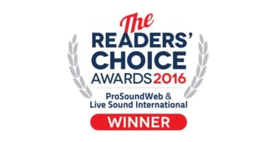 Meyer Sound -  LEOPARD and More Voted ProSoundWeb Readers' Choice Winners