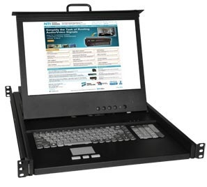 NTI Introduces KVM Drawers with Hi-Res 17 inch VGA or DVI LCDs