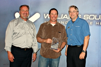 Williams Sound celebrates top sales representative for 2012