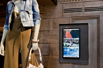 Diesel Installs Digitally Fashionable Video Wall