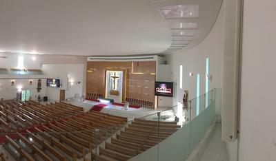 Iconyx Steers Clarity at St Paul's Church in Abu Dhabi