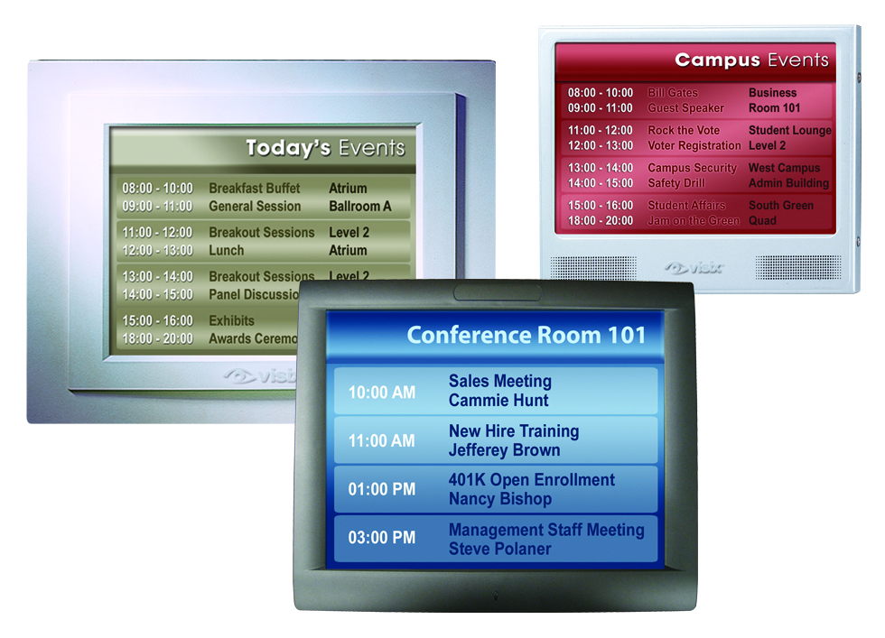 Visix Launches Comprehensive Room Sign Line