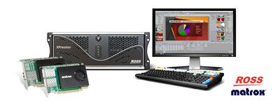 Ross Video Chooses Matrox SMPTE ST 2110 NIC Cards to Power XPression Graphics Engine