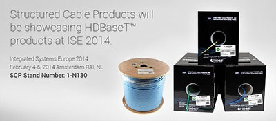 SCP HDBaseT Optimized Category Cables