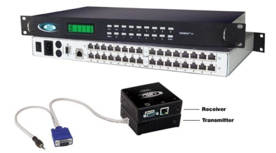 <b>NTI Enhances Its VEEMUX VGA Video Matrix Switches by Adding Support for Multiple Users with Administrative Control Over User Access Ports.</b>