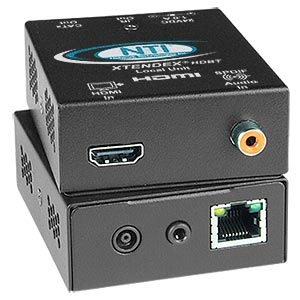 NTI Introduces HDMI HDBase-T Extender with IR via One CAT5/6