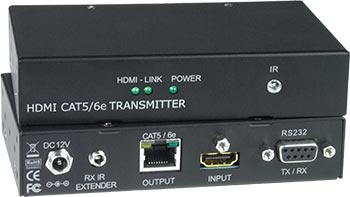 <b>NTI Introduces HDMI HDBase-T Extender with IR and RS232 via One CAT5/6</b>