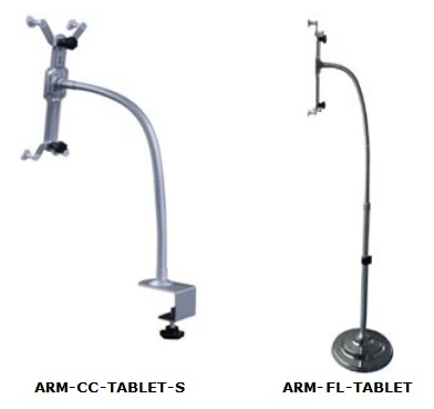 NTI Introduces Tablet Arms