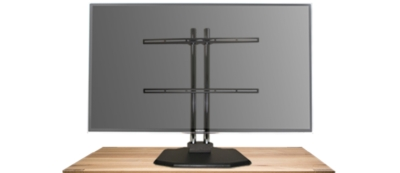 Premier Mounts: Now Available: Large Universal Tabletop Stand for Flat Panels 55