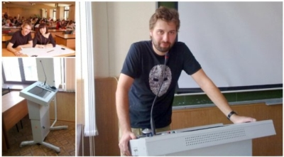 Ural State University of Railway Transport equips 11 more rooms with TechPod Presenter