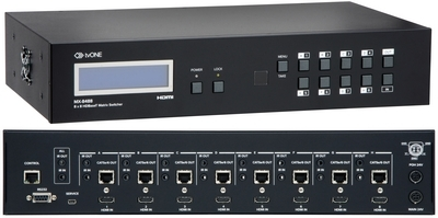 tvONE Unveils 8x8 HDMI Matrix Router with HDBaseT Outputs
